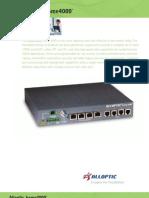 Alloptic Home Gateway 4000
