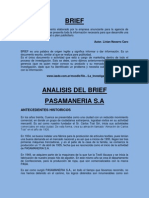 Brief Pasamaneria