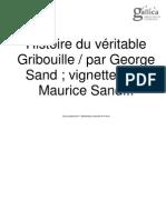Histoire du véritable Gribouille - par George Sand_ vignettes par Maurice Sand