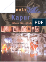 Geeta Kapur - When Was Modernism. Essays on Contemporary Cultural Practice in India