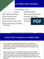 Criminal Justice Commission 2013-15 Ways & Means Presentation