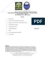 DISI Meeting January 24, 2013 Agenda Packet