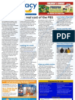 Pharmacy Daily for Thu 14 Feb 2013 - PBS cost, Medication safety, Looking for work?, Together Counts and much more...