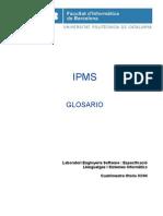 IPMS - Glosario
