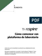 TI-Nspire Lab Cradle GettingStarted ES