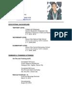 bshrm graduate resume - Resume Sample Objectives For Ojt