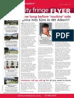 City Fringe Flyer Issue #52 February 2013