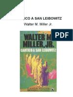 1960 Miller, Walter M - Cantico a San Leibowitz _Novela