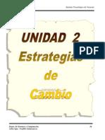 Unidad 2 Estrategias de Cambio