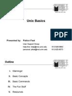 Unix tutorial Basics