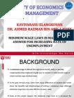 Minimum Wage Laws