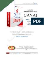 Modul Java Sistem Kombinasi