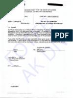 A 3AN-12-09961 CI Lamb Dismissal