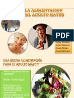 La Alimentacion Del Adulto Mayor