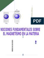 Nociones Fundamentales El Magnetismo en La Materia