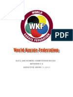 Wkf Competition Rules Version 8 0 Eng
