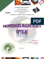 Propiedades Opticas y Magneticas
