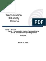 TransmissionReliabilityCriteriaVersion0cleancopypart1general