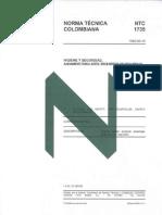 Norma NTC 1735 (Andamios Tubulares)