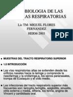 Diagnostico Microbiologico de Secreciones Respiratorias Resp