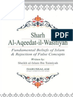 Sharh Al Aqeedat Al Wasitiyah Fundamental Beliefs of Islam and Rejection of False Concepts