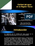 Calidad Agua Region Tacna
