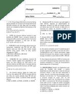 Lista de Exercicios 3EM - Corrente Eletrica e Potencia Eletrica
