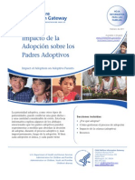 Impacto de La Adopcion Sobre Padres