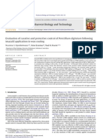Evaluation of curative and protective control of Penicillium digitatum following  imazalil application in wax coating.pdf