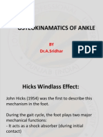 Windlass Effect Ankle Joint