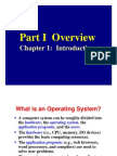 Introduction to Advance Operating System
