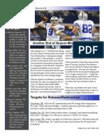 Cowboys 2013 Off Season Preview