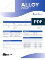 Product Data Sheet Alloy 3600