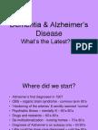 Dementia & Alzheimer's Disease