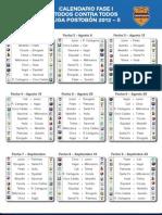 CalendarioFaseILigaPostobonI2012