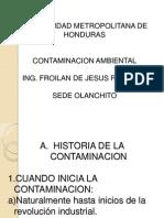Contaminacion Ambiental I