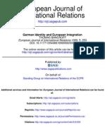 German Identity and European Integration