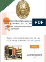 Elecciones Presidenciales Vistas Desde El Distrito de Los