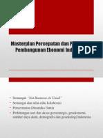 Masterplan Percepatan Dan Perluasan Pembangunan Ekonomi Indonesia