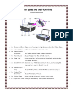 Printer Parts and Their Functions