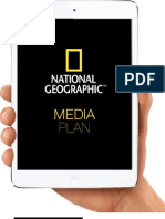 Nation Geographic Media Plan Book