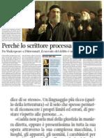 Delitto e giustizia. La letteratura che indaga sulla verità - Il  Corriere della Sera 14.02.2013