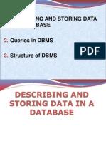 Lec-2 Describing & Storing Data in Database