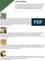 Top 10 Foods Highest in Calcium.docx