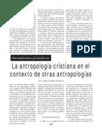 La antropología cristiana en el