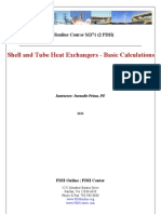 Pdh Shell and Tube Heat Exchangers - Basic Calculations.pdf