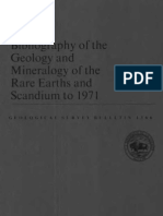 Mineralogy of RE and Scandium_1973