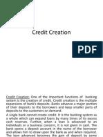 6. Credit Creation
