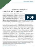 Nanoparticles in Medicine Therapeutic