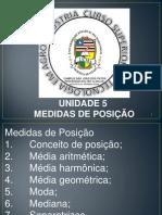 Estatística - Unidade 5